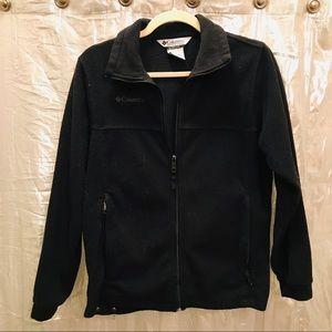 Girl's Columbia Fleece Jacket Size 14/16